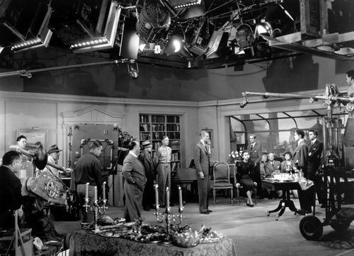 La corde_1948_tournage
