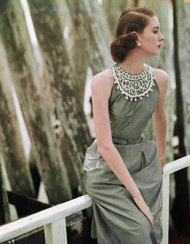1951 clifford coffin Suzy Parker vintage 50s model fashion