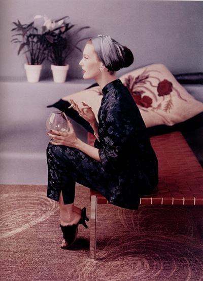 Suzy Parker 50s vintage fashion model turban