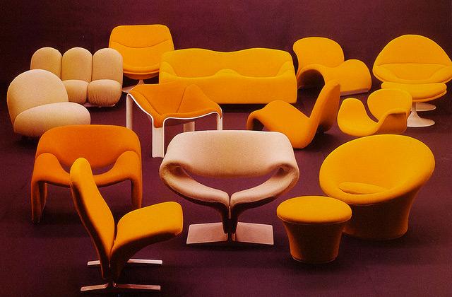 Fauteuils-chaises-pierre-paulin